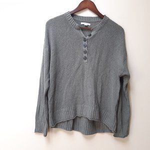 3/$25 American Eagle Sage green knit henle top